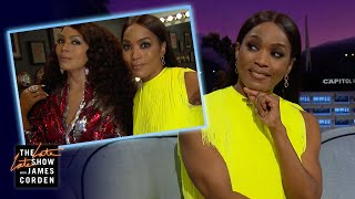 Angela Bassett's Wax Figure Is Insanely Accurate!
