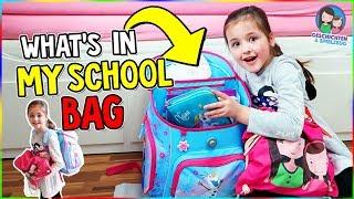 What's in MY School Bag? Ava zeigt euch ihren Schulranzen - Geschichten und Spielzeug