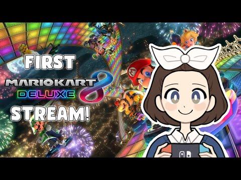 BABY'S FIRST LIVESTREAM - Mario Kart 8 Deluxe Online!
