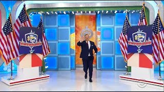 The Price Is Right:  November 9, 2018  (Veteran's Day Special!)