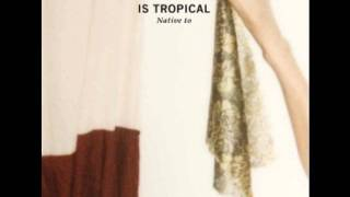 Is Tropical - Think We´re Alone (Album Version)