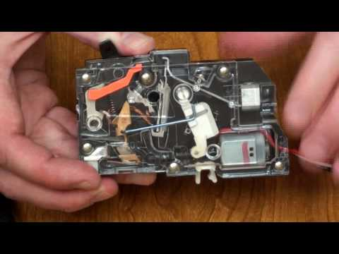 Controllable Motorized Circuit Breaker Tutorial