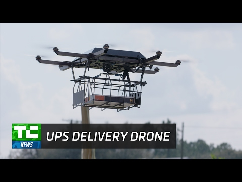 UPS Showcases New Delivery Drone, Screws It All Up
