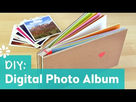 DIY Instagram Photo Album | Sea Lemon | Oh Joy Digital Baby Shower