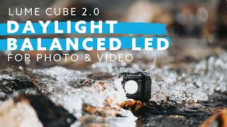 Lume Cube 2.0 Product Overview - Daylight Balanced LED Light For Photo, Video, & Content Creators