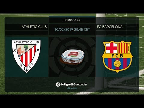 Download Calentamiento Athletic Club vs FC Barcelona HD Mp4 3GP Video and MP3