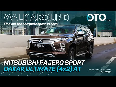 Walk Around | Mitsubishi Pajero Sport Dakar Ultimate (4x2)