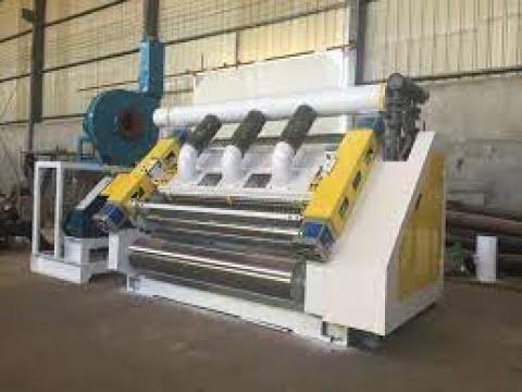 Oblique High Speed Single Facer Corrugation Machine