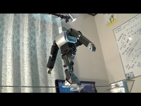 No One Cares If A Tightrope-Walking Robot Falls To Its Death