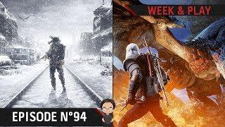 Metro Exodus, Granblue, clap de fin pour Heroes of the Storm et Geralt dans MH World | WP#94