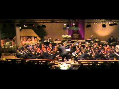 Kerstconcert 2010 fanfare vriendenkring in Overloon
