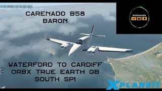 X-PLANE 11 - TRUE EARTH GREAT BRITAIN SOUTH - FIRST