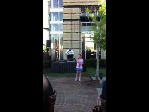Who's Loving You  Jackson 5 cover by Leah Grace at Raffa's (9 yrs old)