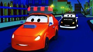 Download Video Bajki dla dzieci - Patrol Policyjny wóz strażacki i radiowózi - Miasto Samochodów MP3 3GP MP4