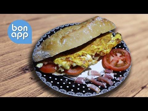 Сэндвич с омлетом - Оригинальные рецепты