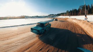 ICE RACING 2 with FPV DRONE