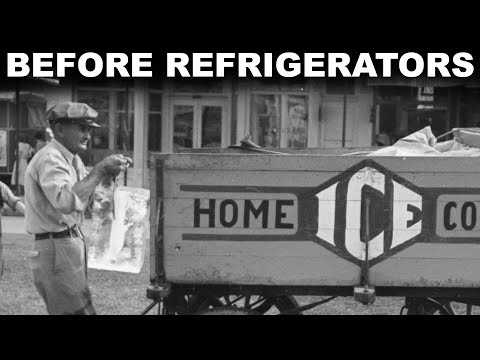 Before Refrigerators, How Did People Keep Things Cold?