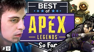 Shroud's New Playground: Apex Legends Best Kills, Funny Moments and Fails So Far