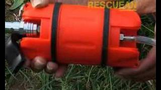 preview picture of video 'Scuba lifesaving aid - RescuEAN Pod'