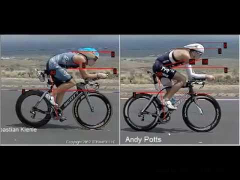 Pro Bike Position Analysis: Kienle vs Potts vs TO