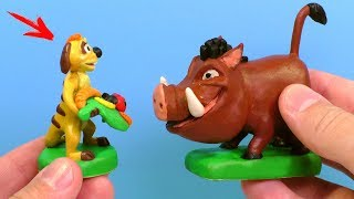 Лепим Тимона и Пумбу из фильма Король Лев | Timon and Pumbaa