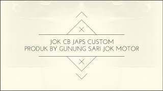 Jok cb 100 custom retro