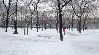 Les Balades de PPRM – Paris sous la neige