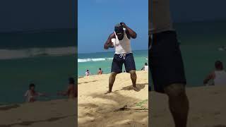 Piti Docemill dia de playa