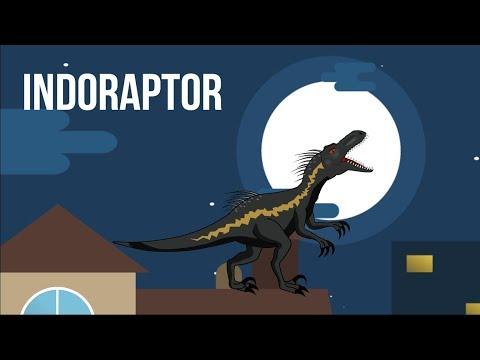 Dinosaurs cartoons: Indoraptor in Jurassic World Fallen Kingdom | MiMi TV