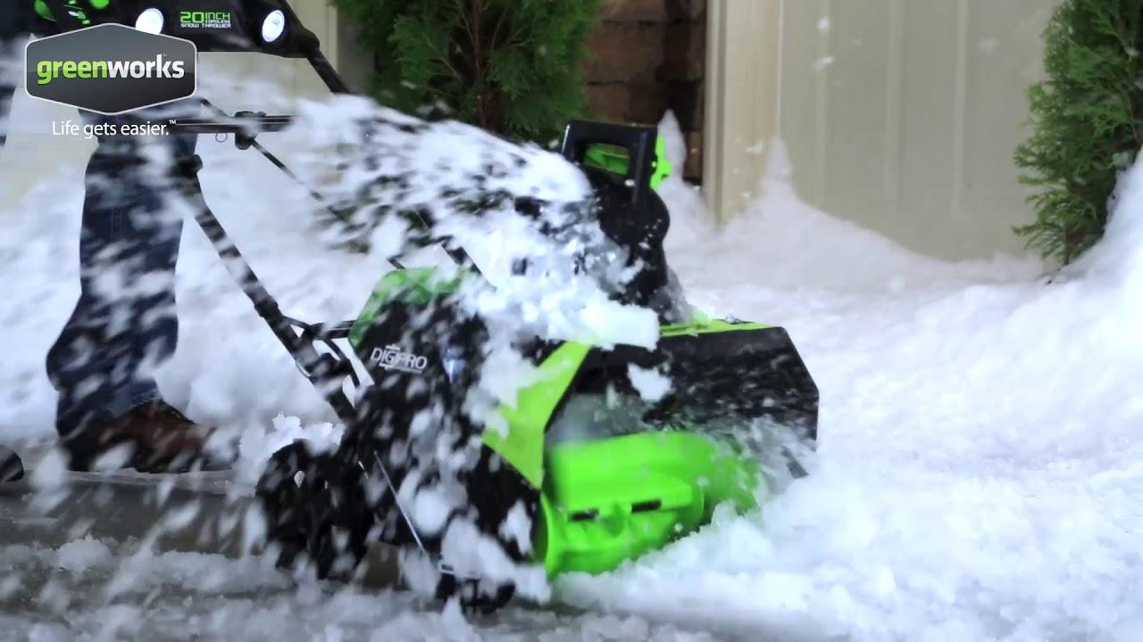 Souffleuse à neige sans balais 40 V, 20 po