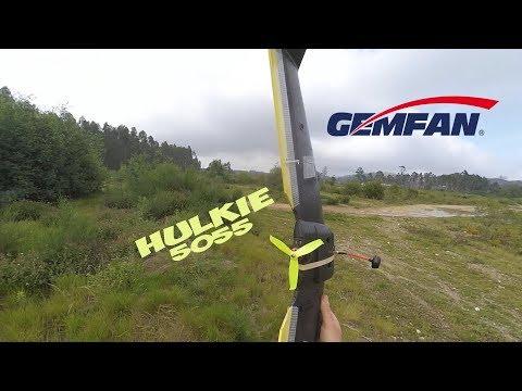GemFan Hulkie 5055 S800 Wng Flight Test