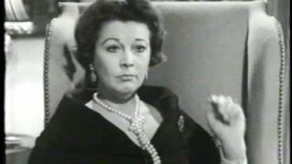 Vivien Leigh Interview-Part Two Small World