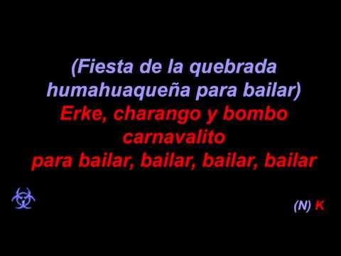 King Africa - Carnavalito El Humahuaqueño con letra