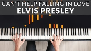"""Video thumbnail of """"Elvis Presley - Can't Help Falling In Love 
