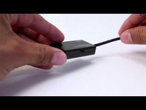 Micro USB to HDMI MHL Adapter by Monoprice