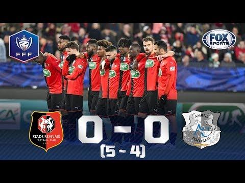 O ATUAL CAMPEÃO SEGUE NA BRIGA! Veja os melhores momentos de Rennes 0 (5) x (4) 0 Amiens