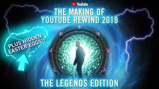The Making of YouTube Rewind | Legends Edition | Plus Hidden Easter Eggs