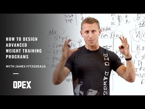 How To Design Advanced Weight Training Programs with James ...