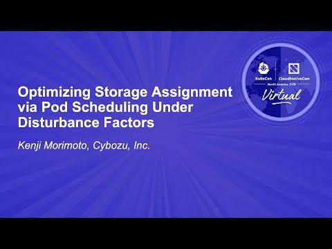 Image thumbnail for talk Optimizing Storage Assignment via Pod Scheduling Under Disturbance Factors
