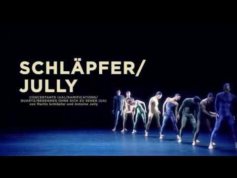 SCHLÄPFER/JULLY (UA) von Martin Schläpfer und Antoine Jully - Premiere 03.12.2016