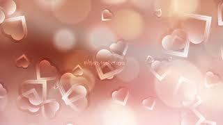 love background | Romantic hearts | #Weddingbackground | heart background video | motion background