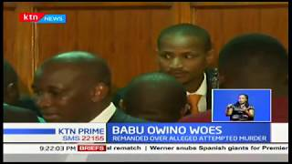 Court rules MP Babu Owino to be treated in prison hospital for his chest pains, not private facility