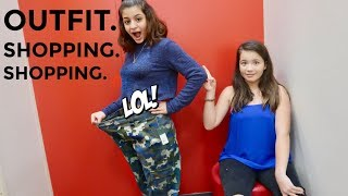 OUTFIT SHOPPING CHALLENGE FOR MY COUSIN KEILLY | ITS ME ALI