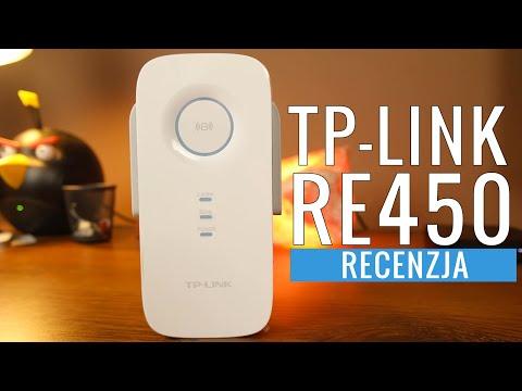 TP-LINK RE450 - wzmacniacz sygnału WiFi - test recenzja PL