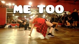 ME TOO by @Meghan_Trainor | Choreography by @nikakljun