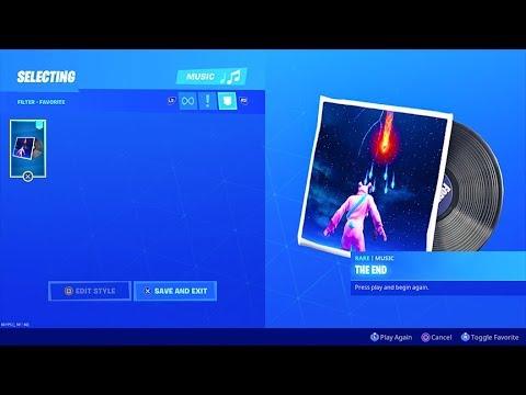 Fortnite The End EXTENDED Music Pack..! (Full Version Lobby Music) Fortnite Battle Royale