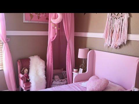 les comparto como me quedo decorado el cuarto de mi hija 💕ideas bonitas para cuarto de niña 💕