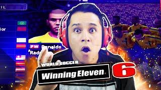 WINNING ELEVEN! JOGANDO O MELHOR JOGO DE FUTEBOL!!!