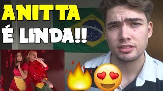 GRINGO REAGINDO  à Iggy Azalea ft. Anitta: Switch (REACTION!)