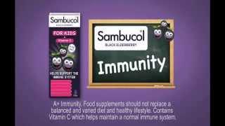 Vitamin tăng cường sức đề kháng Sambucol UK